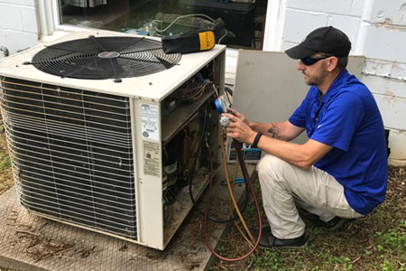 hvac service in spartanburg